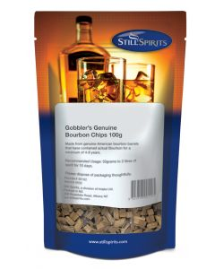 Still Spirits - Gobbler's Bourbon Chips 100g.